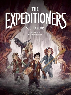 Cover for The Expeditioners and the Treasure of Drowned Man's Canyon