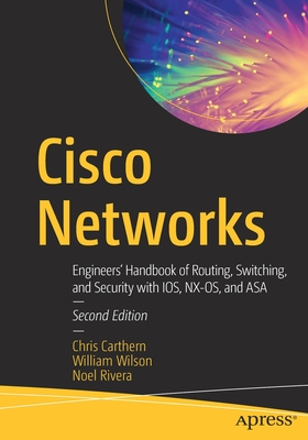 Cisco Networks: Engineers' Handbook of Routing, Switching, and Security with Ios, Nx-Os, and Asa Cover Image