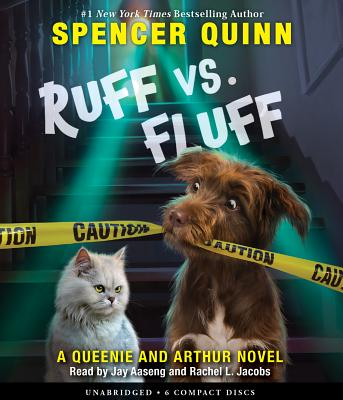 Ruff vs. Fluff (An Arthur & Queenie Novel) Cover Image