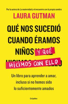 Qué nos sucedio cuando eramos niños y que hicimos con ello / What Happened To Us  When We Were Children and What We Did With It: A Book For Learning to Love, : Un libro para aprender a amar, incluso si no hemos sido lo suficientemente amado s Cover Image