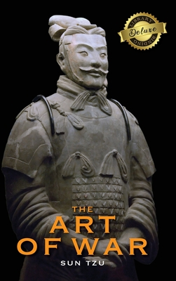 The Art of War (Deluxe Library Binding) (Annotated) Cover Image