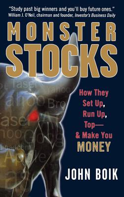 Monster Stocks: How They Set Up, Run Up, Top and Make You Money Cover Image