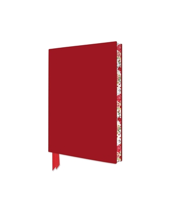 Red Artisan Pocket Journal (Flame Tree Journals) Cover Image