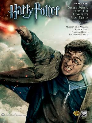 Harry Potter -- Sheet Music from the Complete Film Series: Big Note Piano Cover Image