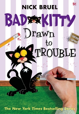 Bad Kitty Drawn to Trouble Cover Image