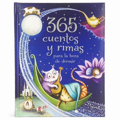 365 Cuentos Y Rimas Para La Hora de Dormir = 365 Tales and Rhymes for Bedtime Cover Image