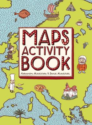 Maps Activity Book Cover Image