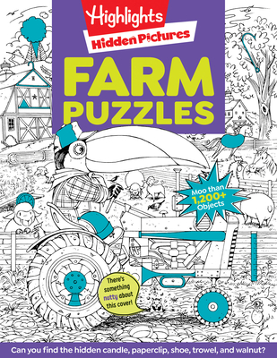Farm Puzzles (Highlights Hidden Pictures) Cover Image