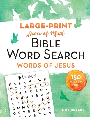 Cover for Peace of Mind Bible Word Search