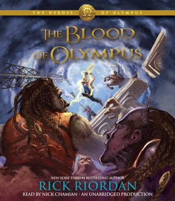 The Heroes of Olympus, Book Five: The Blood of Olympus Cover Image