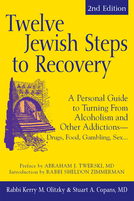 Cover for Twelve Jewish Steps to Recovery (2nd Edition)