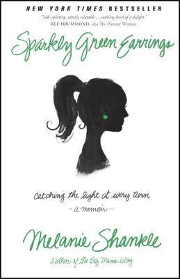 Sparkly Green Earrings Cover Image