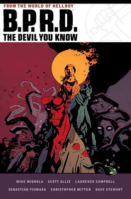 B.P.R.D. The Devil You Know Omnibus Cover Image