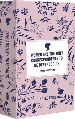 Jane Austen Notecards Cover Image