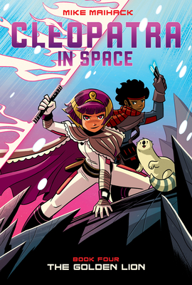 The Golden Lion (Cleopatra in Space #4) Cover Image