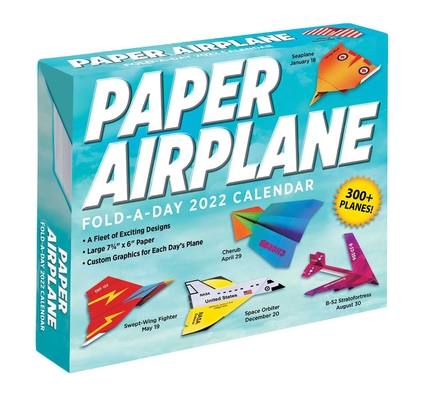 Paper Airplane 2022 Fold-A-Day Calendar Cover Image