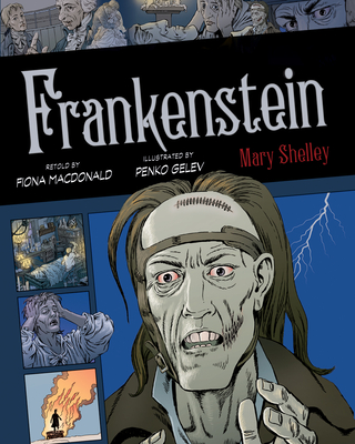 Cover for Frankenstein, 3 (Graphic Classics #3)