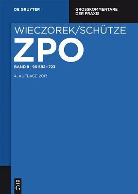 §§ 592-723 (Grosskommentare Der Praxis) cover