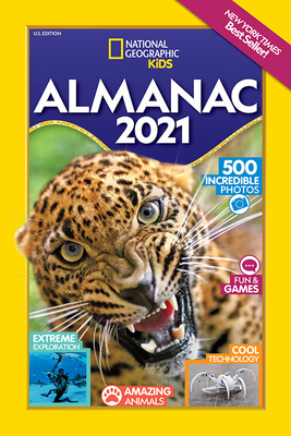 National Geographic Kids Almanac 2021, U.S. Edition (National Geographic Almanacs) Cover Image