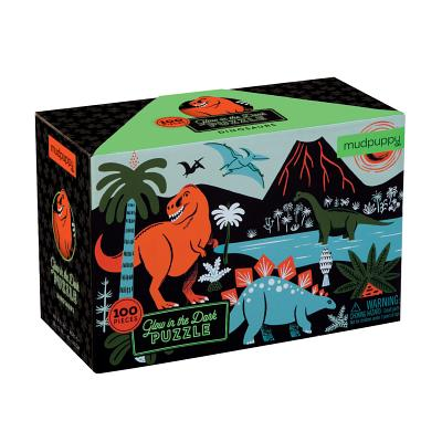 Dinosaurs Glow-in-the-Dark Puzzle Cover Image
