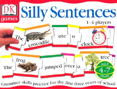 DK Toys & Games: Silly Sentences: Grammar Skills Practice for the First 3 Years of School Cover Image
