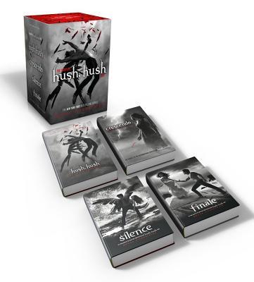 The Complete Hush, Hush Saga: Hush, Hush; Crescendo; Silence; Finale (The Hush, Hush Saga) Cover Image