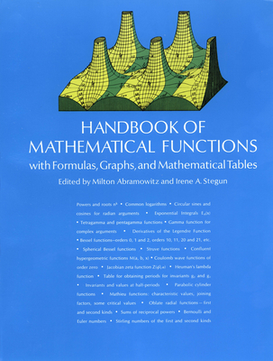Cover for Handbook of Mathematical Functions