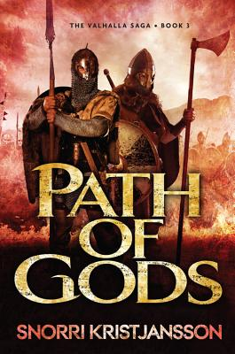 Cover for Path of Gods (The Valhalla Saga #3)