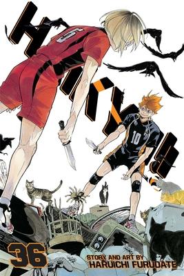 Haikyu!!, Vol. 36 Cover Image