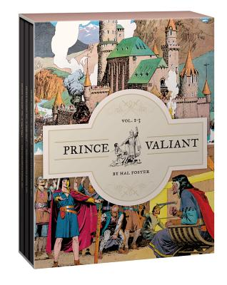 Prince Valiant Volumes 1-3: Gift Box Set Cover Image