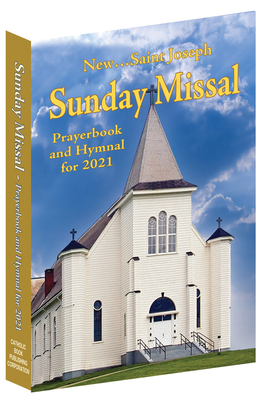 St. Joseph Sunday Missal Prayerbook and Hymnal for 2021 Canadian Edition Cover Image