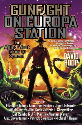Cover for Gunfight on Europa Station