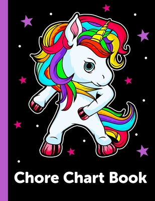 Chore Chart Book: Daily and Weekly Responsibility Tracker for Kids Cover Image