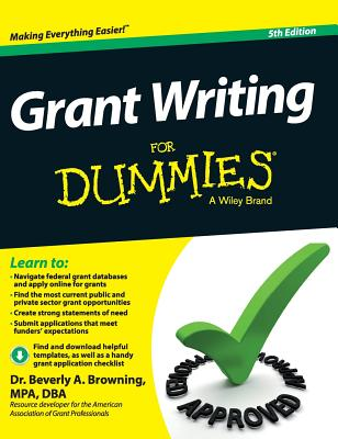 Grant Writing for Dummies Cover Image