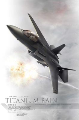 Titanium Rain Volume 1 Hc Cover