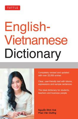 Tuttle English-Vietnamese Dictionary (Tuttle Reference Dictionaries) Cover Image