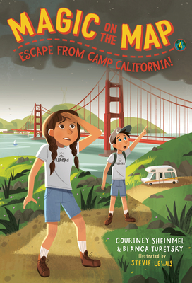 Magic on the Map #4: Escape From Camp California Cover Image