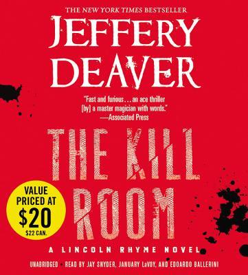 Cover for The Kill Room Lib/E