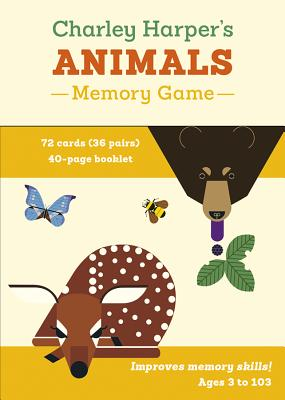 Charley Harper's Animals Memory Game Cover Image