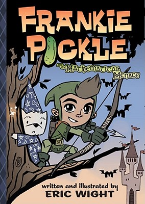 Frankie Pickle and the Mathematical Menace Cover