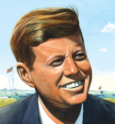 Jack's Path of Courage: The Life of John F. Kennedy (A Big Words Book #3) Cover Image