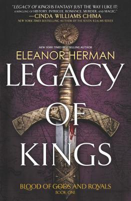 Legacy of Kings (Blood of Gods and Royals #1) Cover Image