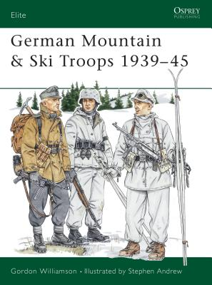 German Mountain & Ski Troops 1939-45 Cover