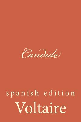 Candide: Spanish Edition Cover Image