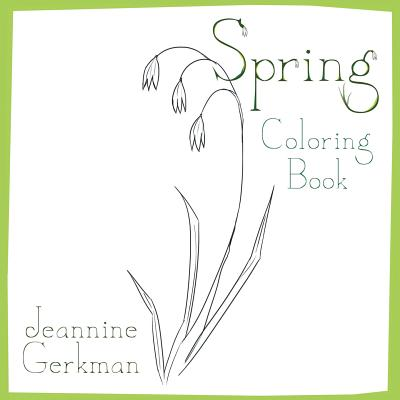 Spring: Coloring Book Cover Image