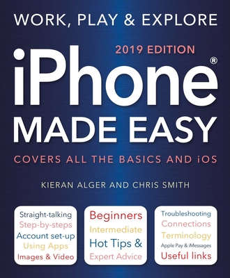 iPhone Made Easy (2019 Edition) Cover Image