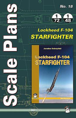Lockheed F-104 Starfighter: Scale Plans Cover Image