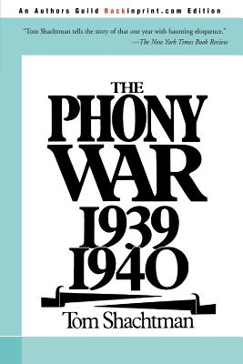 The Phony War 1939-1940 Cover