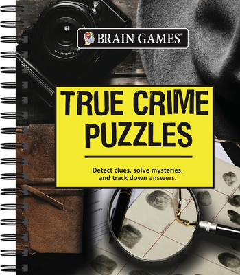 Brain Games - True Crime Puzzles Cover Image