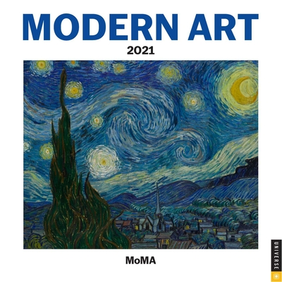 Modern Art 2021 Mini Wall Calendar Cover Image